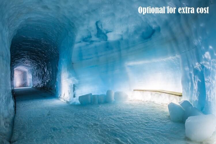Into the Glacier Langjökull Tunnel