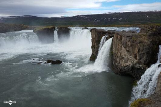 Goðafoss Falls North Iceland