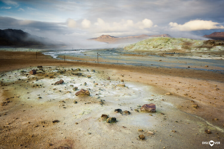 Námafjall Námaskarð Hverir Hot Spring Area