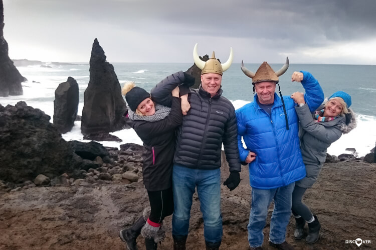 Vikings Horned Hats Reykjanes Peninsula Tour