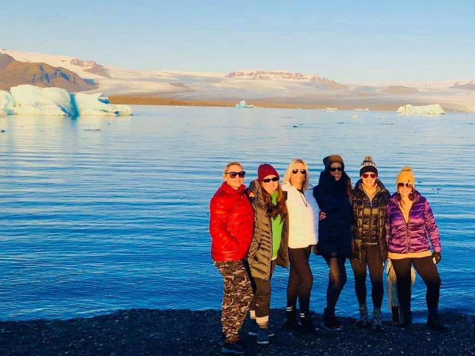 Fun Group in Iceland