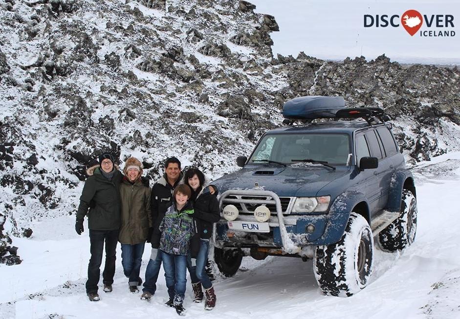 Travel agencies offer guided tours to Vatnajokull