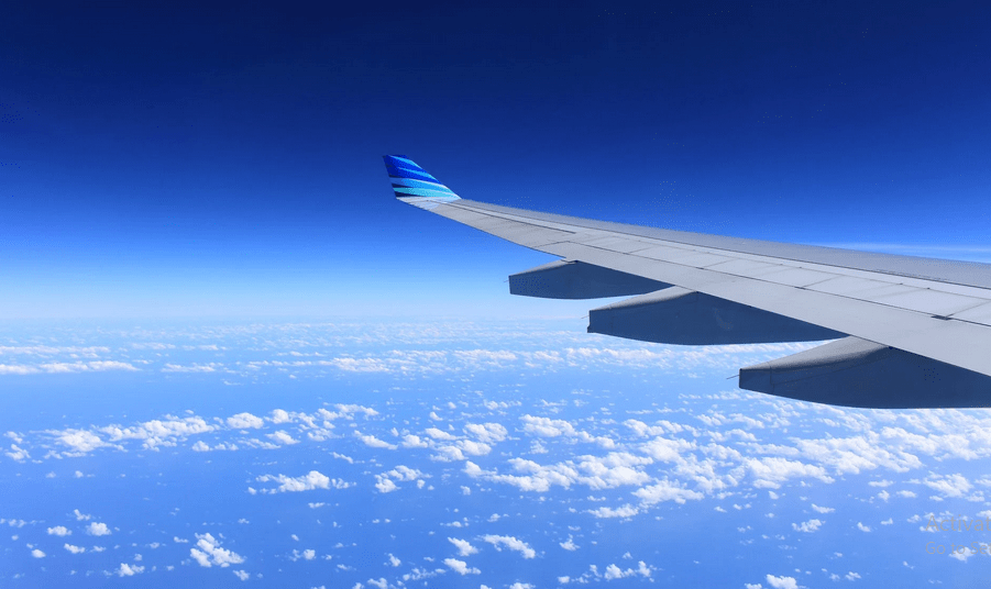 The shortest airplane ride