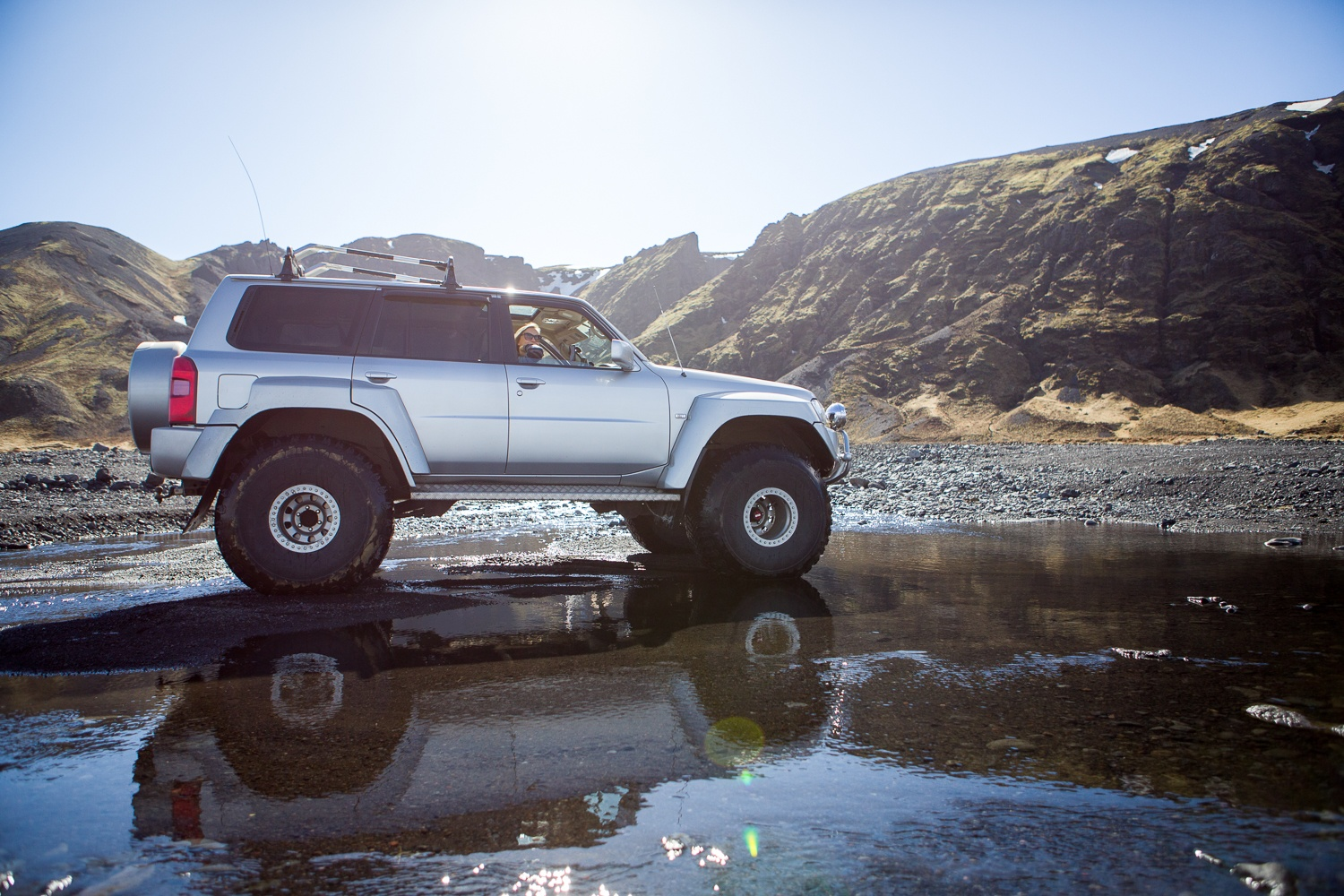 Nissan Patrol Super Jeep Private Tour Discover Iceland Iceland Private Tours 4x4 Super Jeep Trips
