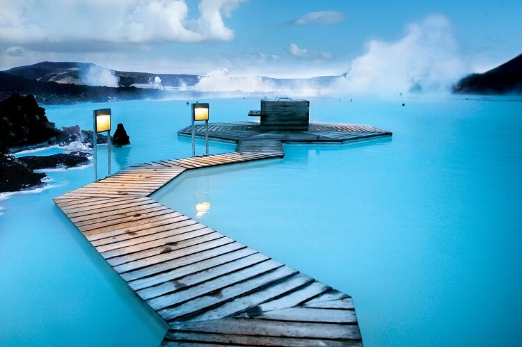 Immersing in Blue Lagoon