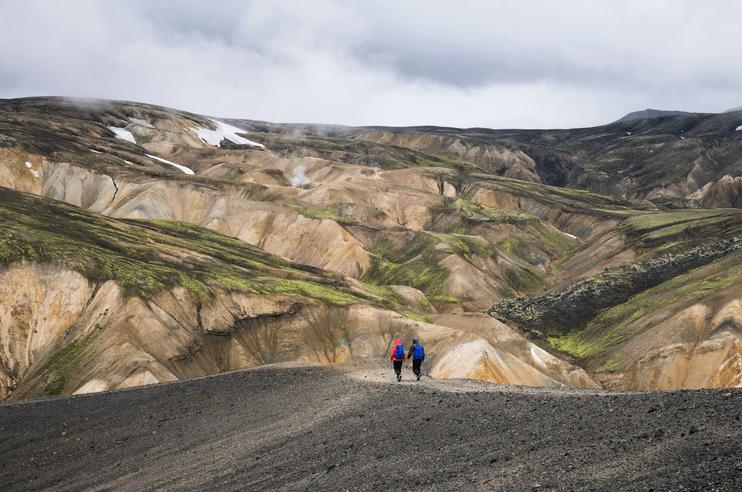 Riveting hiking trails