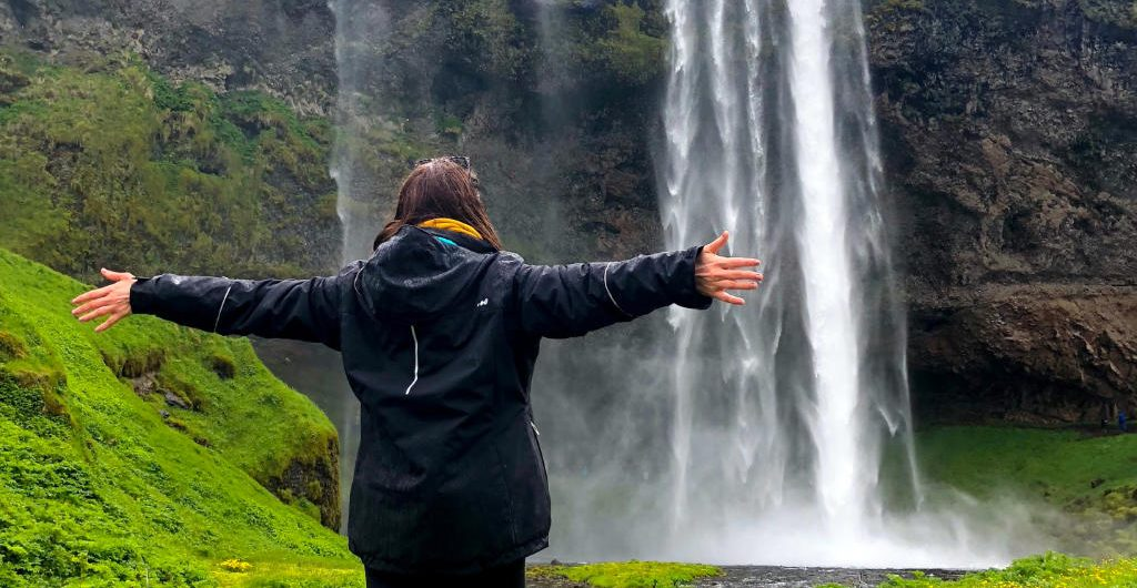Seljarlandsfoss Waterfall