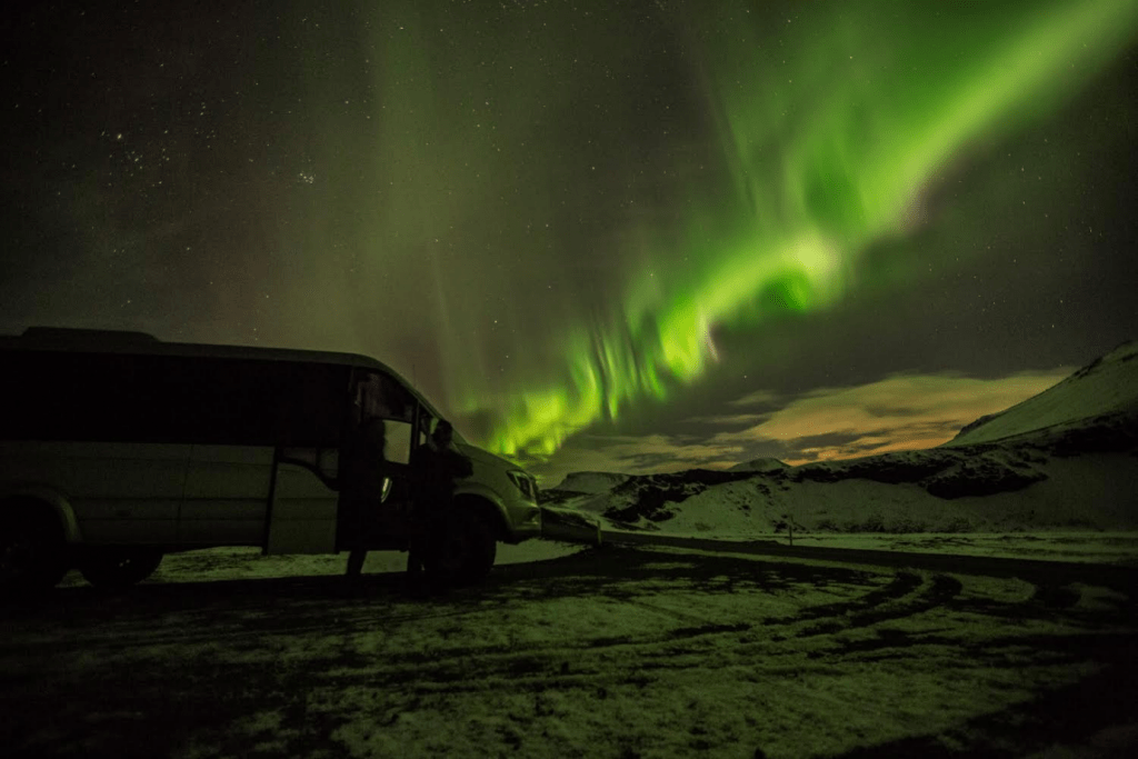 Gazing at Northern Lights