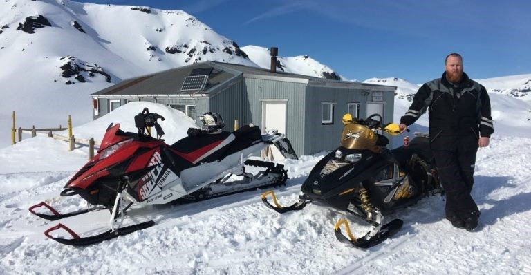 Enjoy winter sports like snowmobiling