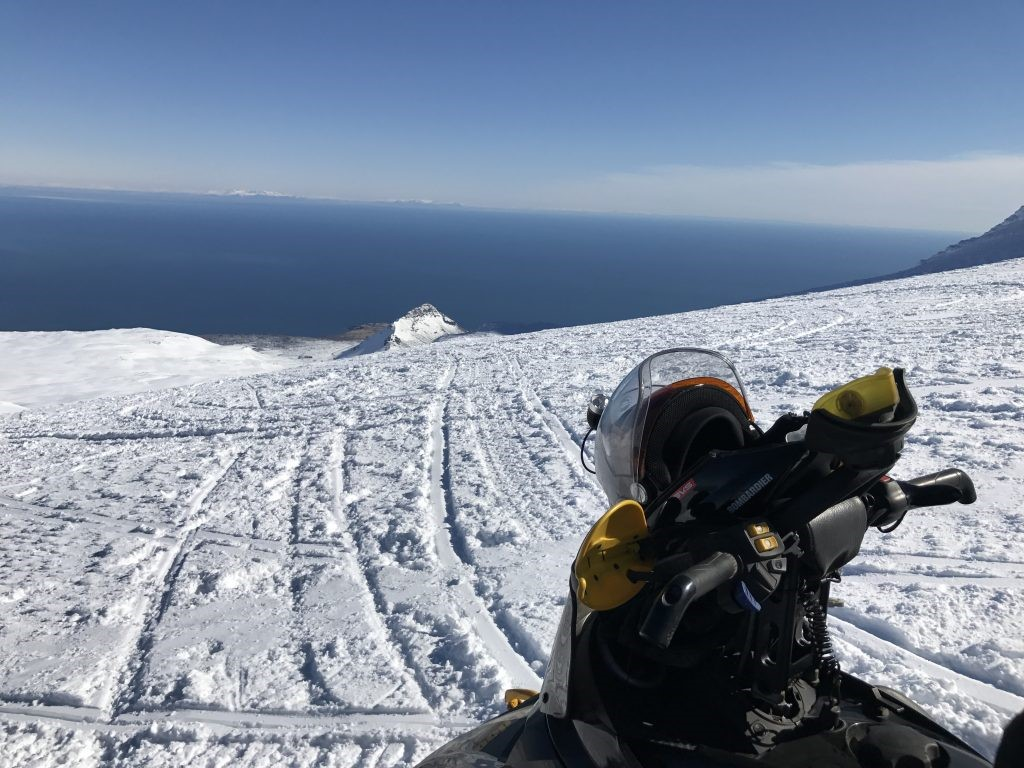 Snowmobiling in Golden Circle