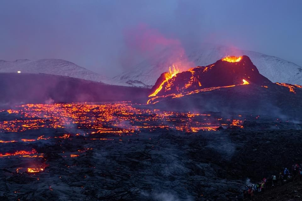 Witness a volcanic eruption with your own eyes