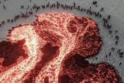 Fagradalsfjall Geldingadalir Volcano lava