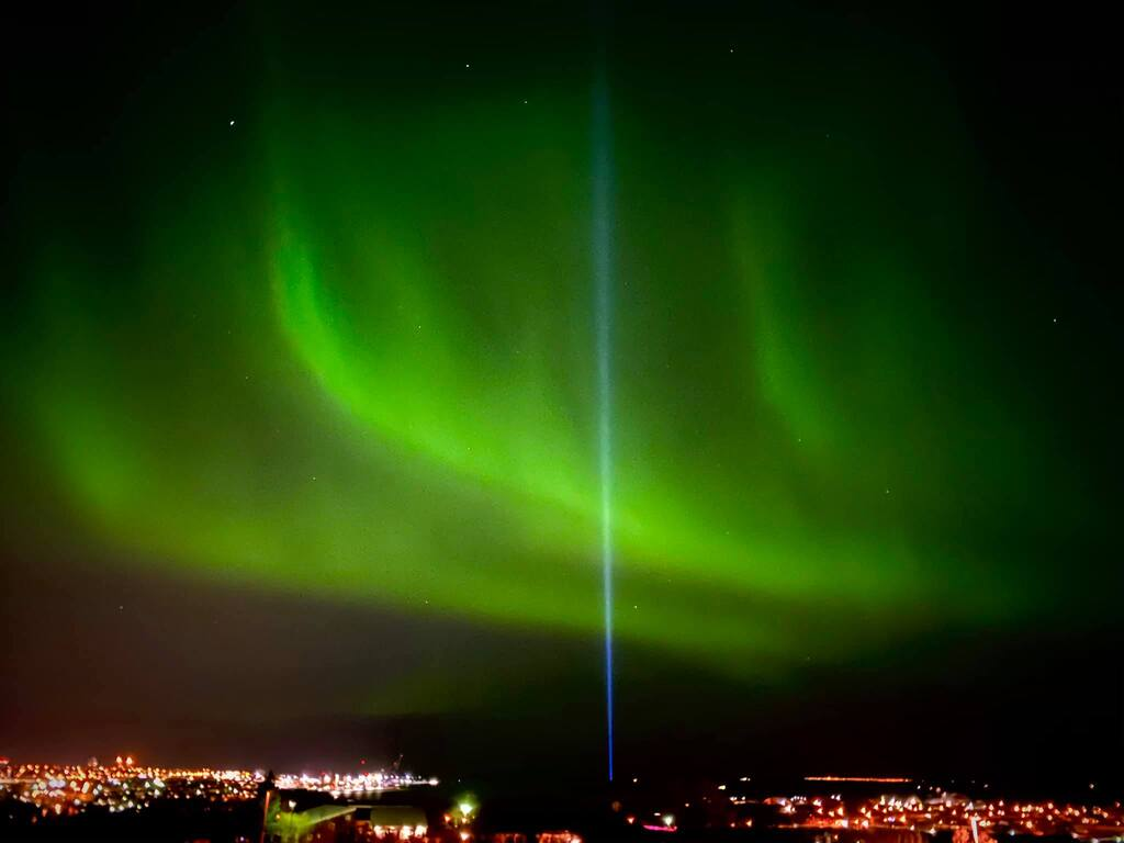 Northern Lights are dancing solar dust in the expansive sky