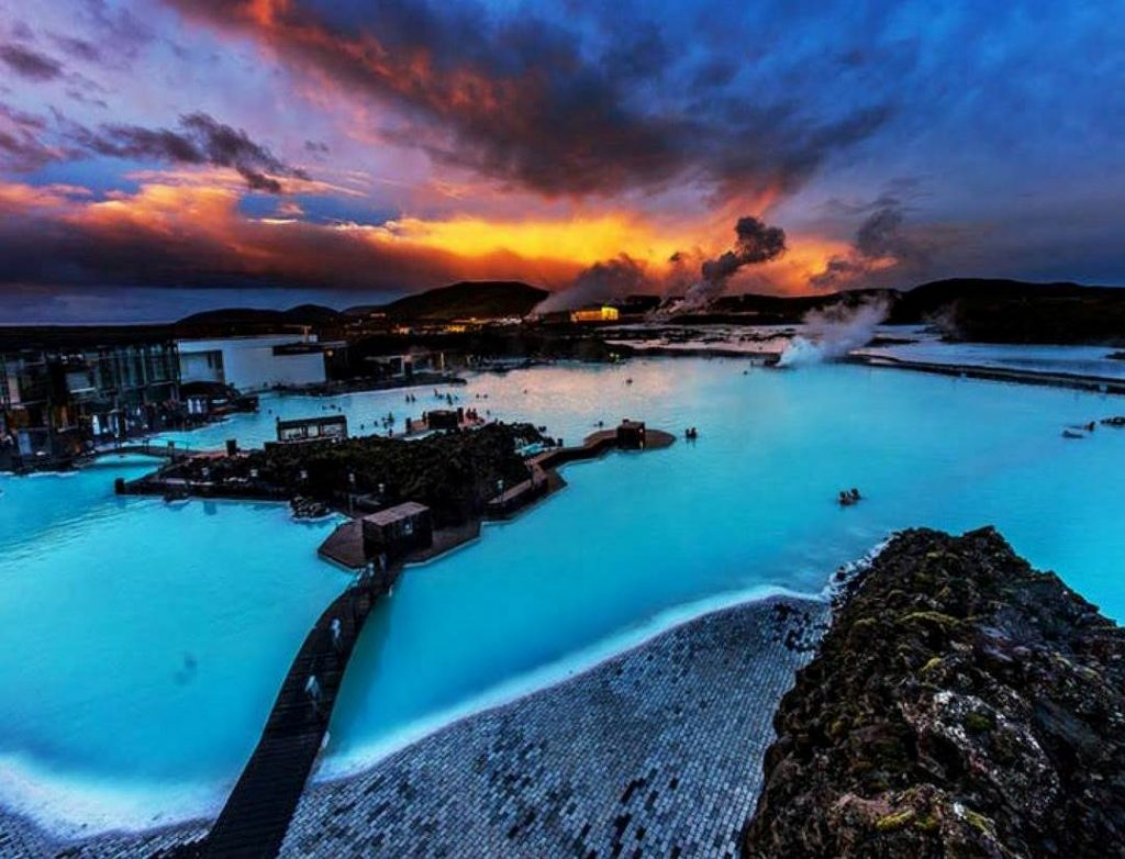 Traveling to Blue Lagoon