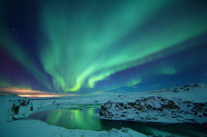 Witness the magnificent Northern Lights